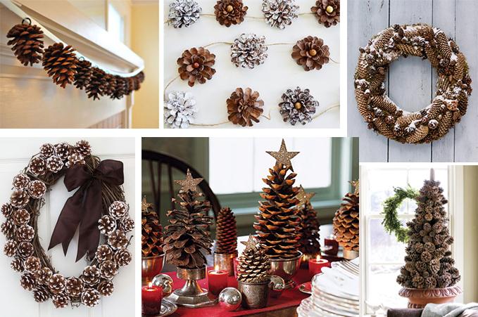 Как сделать украшение на новый год своими руками на стол